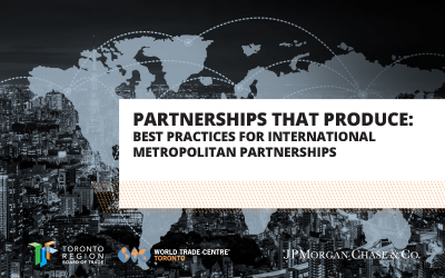 International Metropolitan Partnerships Report - view report