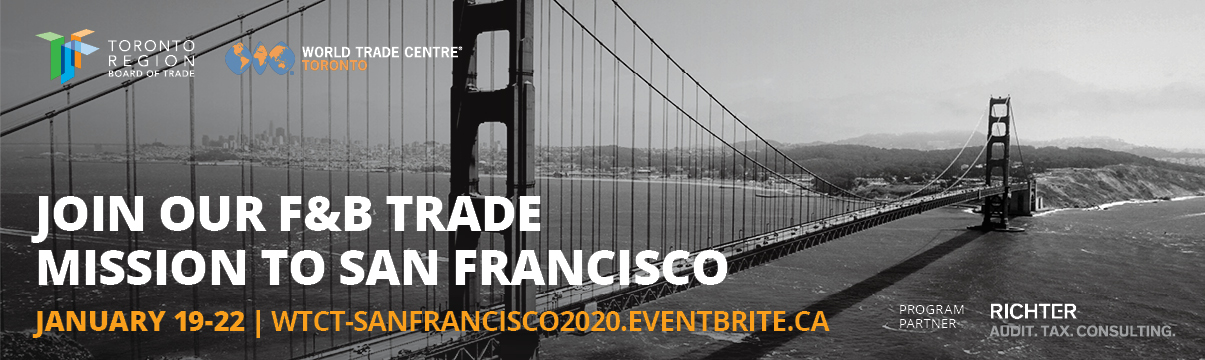 MAP Food & Beverage Trade Mission to San Francisco