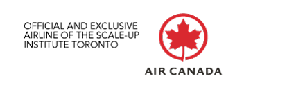 Official and Exclusive Airline of the Scale-Up Institute Toronto