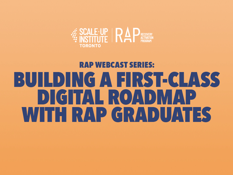 RAP Webcast 9: Building a First-Class Digital Roadmap with RAP Graduates Image