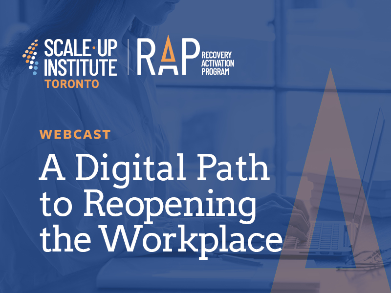 Recovery Activation Program Presents: A Digital Path to Reopening the Workplace Image
