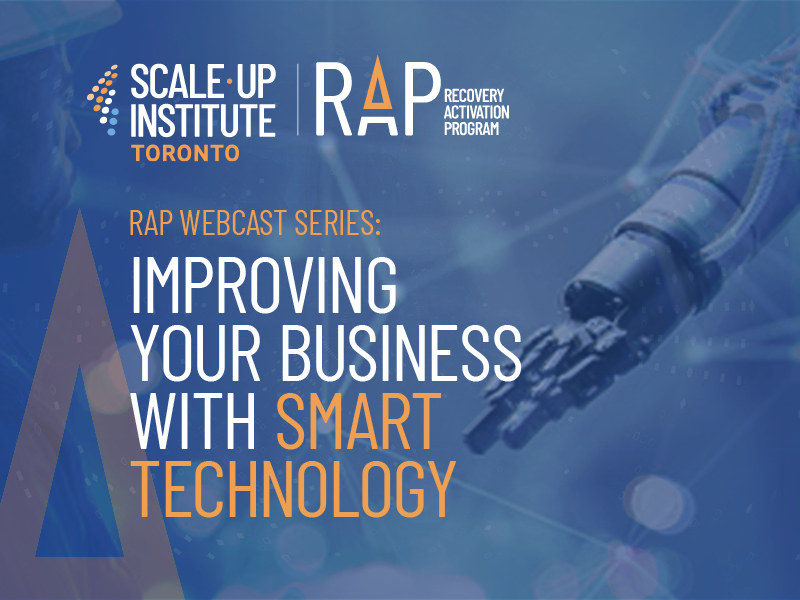 Recovery Activation Program: Improving Your Business with Smart Technology Image